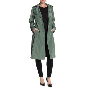 Via SPIGA Belted Trench Coat water Repellent